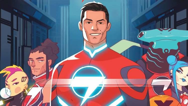 """Cristiano Ronaldo presenta el tráiler de """"Striker Force 7"""""""