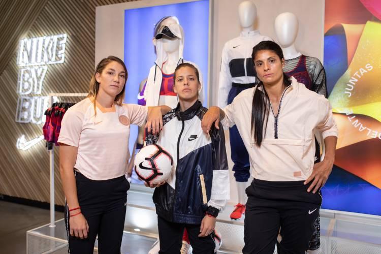Nike reunió a tres de sus futbolistas de cara al Mundial