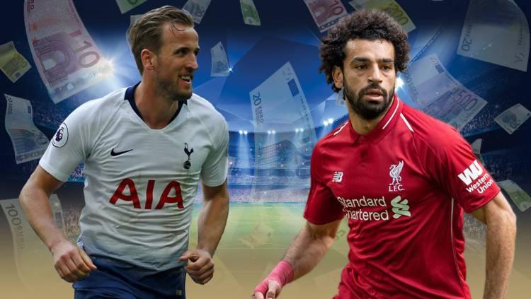 Salah y Kane, los jugadores más caros de la final de UEFA Champions League