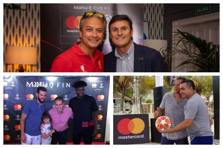 Mastercard activó su patrocinio con UEFA Champions League en Madrid y Cartagena