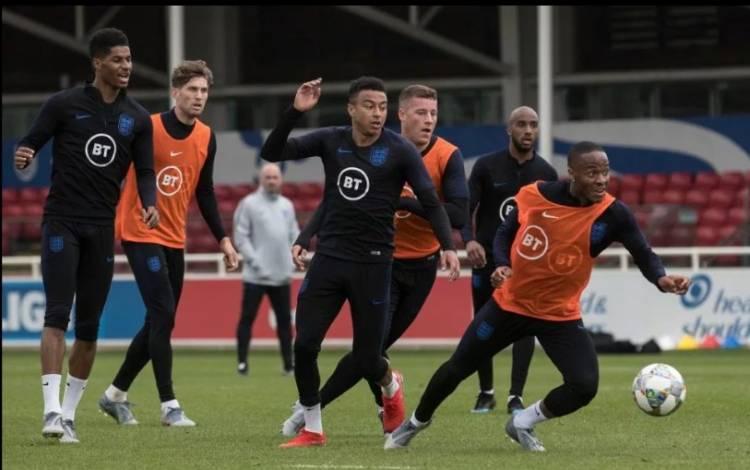 La selección inglesa de fútbol suma un sponsor para la indumentaria de entrenamiento