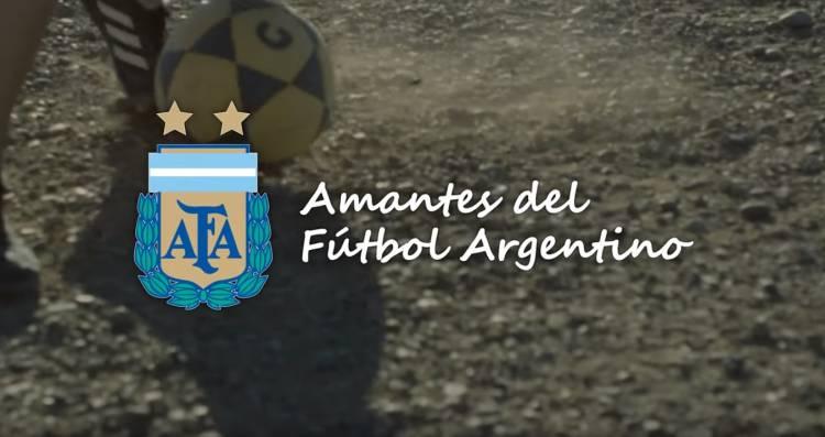 """AFA presentó la campaña """"Amantes del Fútbol Argentino"""""""