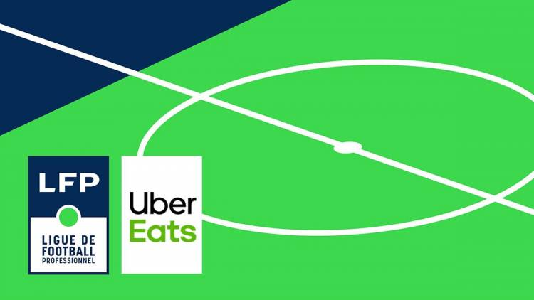 La liga francesa vende su naming rigths a Uber Eats