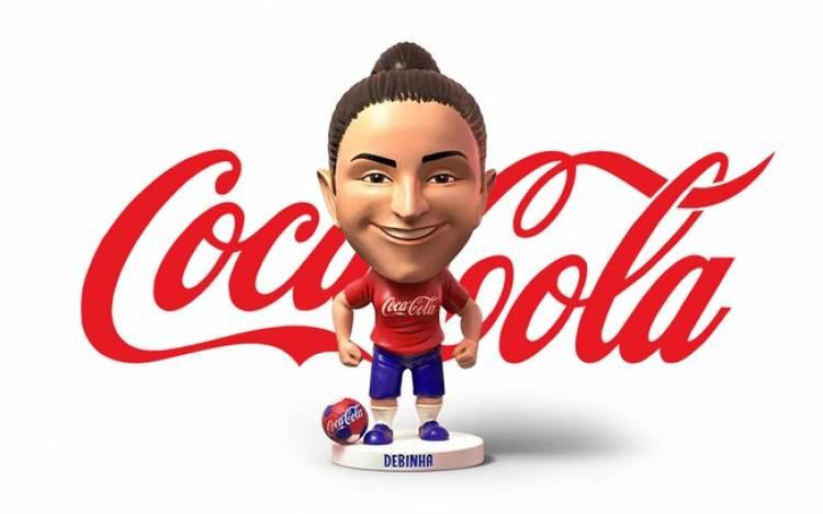 Coca-Cola Brasil lanzó el primer muñequito de una futbolista