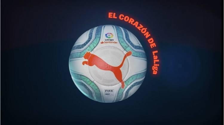 Puma y LaLiga presentan el nuevo balón oficial