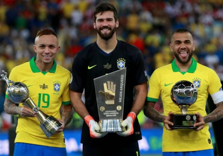 Nike domina el equipo ideal de la Copa América