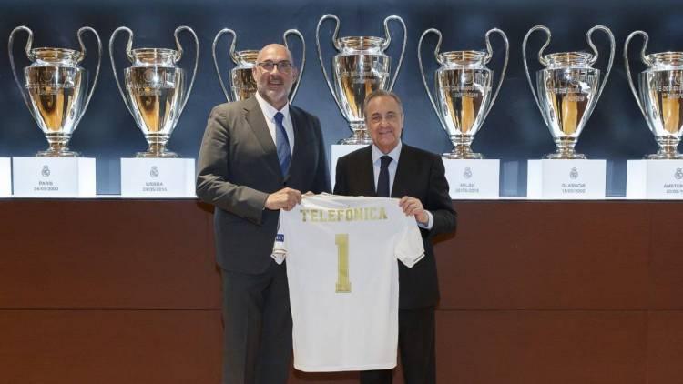 Telefónica será el integrador tecnológico para el nuevo Santiago Bernabéu