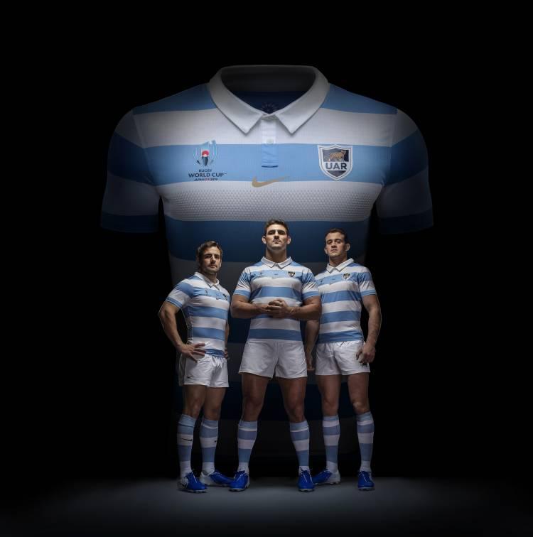Nike presentó las nuevas camisetas de Los Pumas