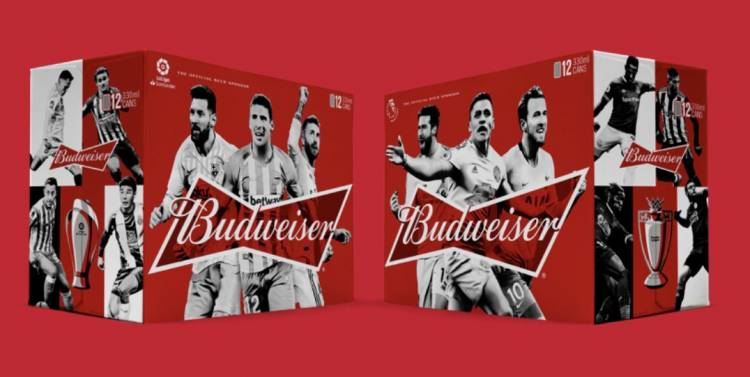 Budweiser firma acuerdos globales con LaLiga y la Premier League