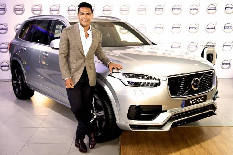 Falcao se convierte en embajador de Volvo Colombia