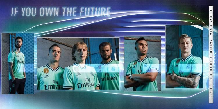 Adidas presentó la tercera camiseta de Real Madrid