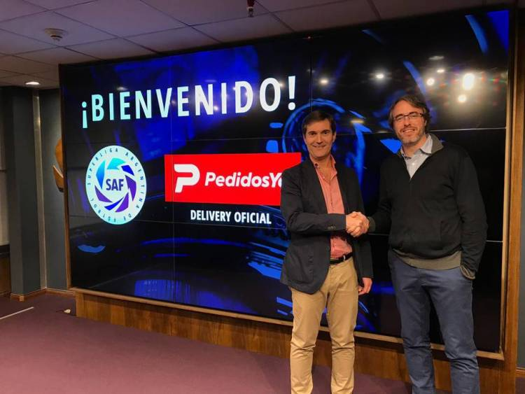 PedidosYa se une a la Superliga