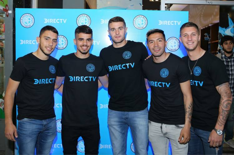 DIRECTV se convierte en nuevo sponsor del Club Atlético Belgrano