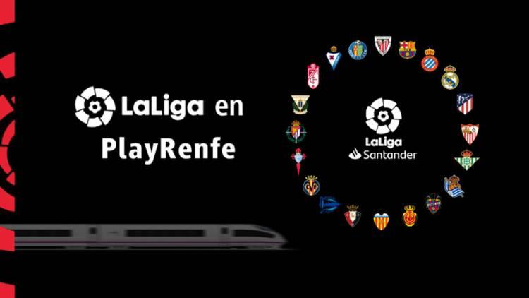 Renfe se convierte en transporte oficial de LaLiga