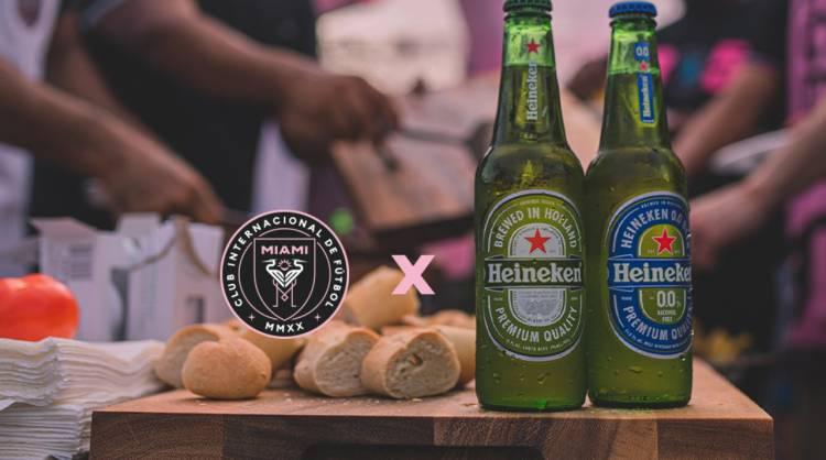 Inter Miami CF anuncia a Heineken como primer socio oficial
