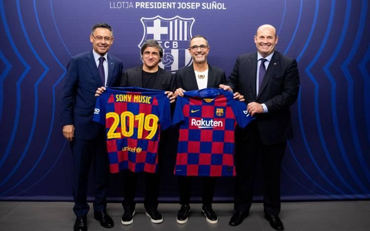 FC Barcelona se une a Sony Music