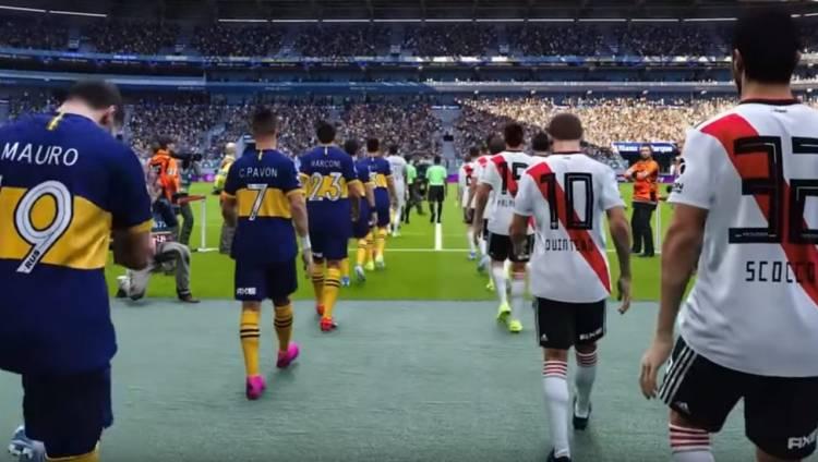 River y Boca, exclusivos en eFootball PES2020