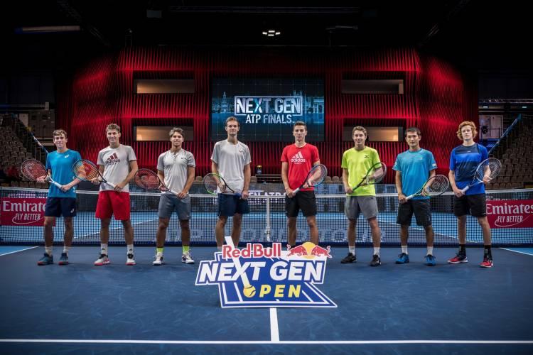 Red Bull ingresa en el mundo del tenis con Next Gen Open