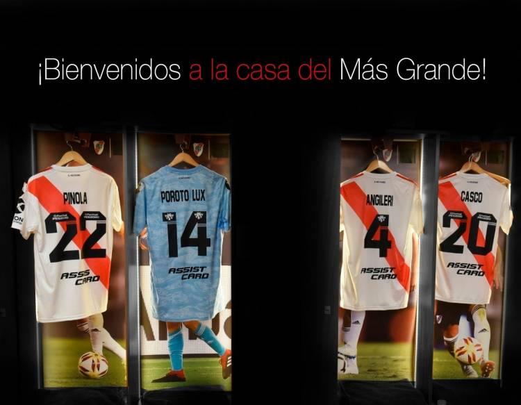 River Platepresentó su nuevo sponsors
