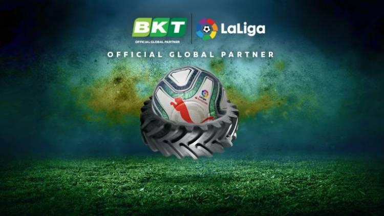 Los neumáticos BKT patrocinará a LaLiga por tres años