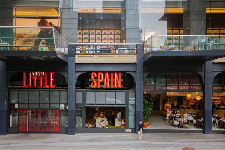 LaLiga utiliza un restaurante como sede en Nueva York