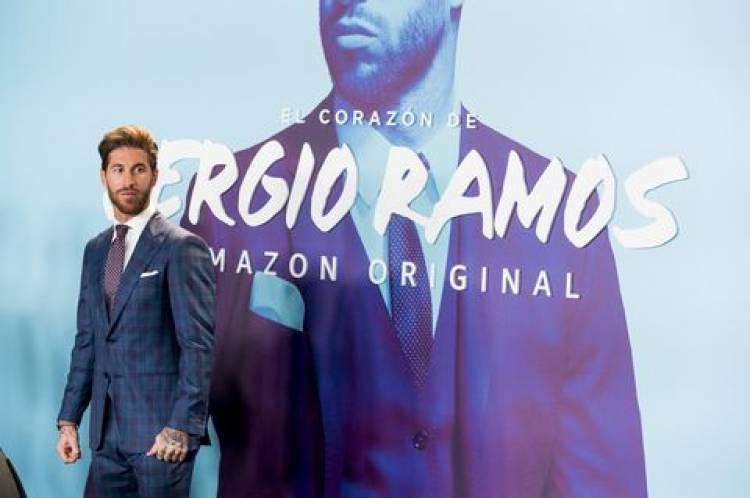 Sergio Ramos presenta su documental en Amazon Prime Video