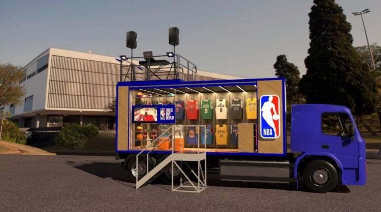 "La NBA presenta el ""Store Truck"" en Brasil"