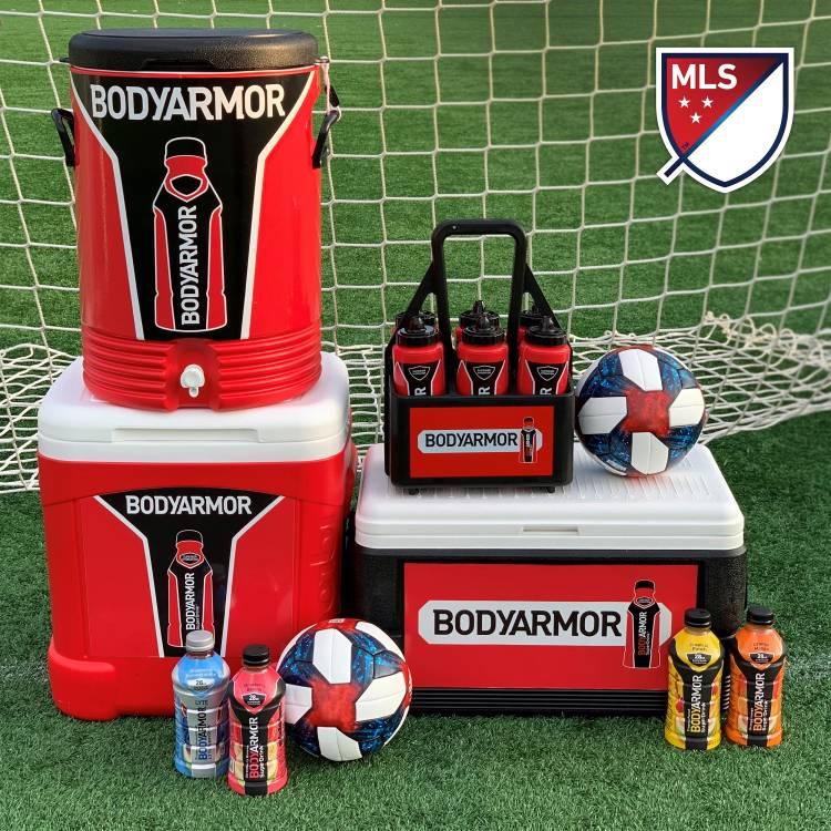 BODYARMOR se convertirá en la bebida deportiva de la MLS