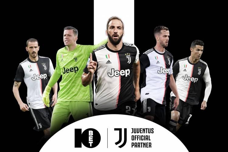 10bet será la nueva casa de apuestas oficial de Juventus