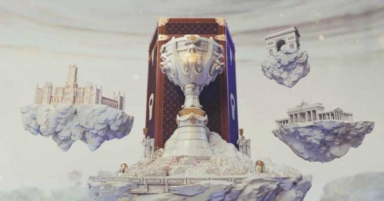 Louis Vuitton diseñó el baúl para la copa del Mundial de League of Legends