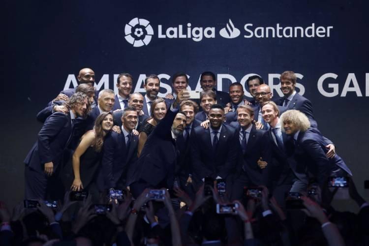 LaLiga Santander Ambassadors suma cuatro nuevas glorias