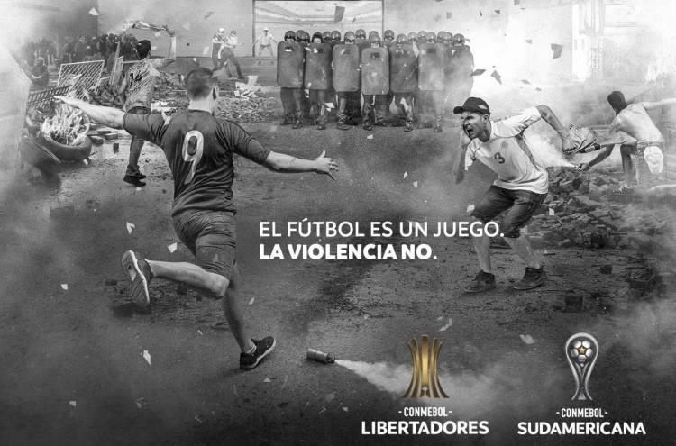 """CONMEBOL presentó la campaña """"El fútbol es un juego. La violencia NO"""""""