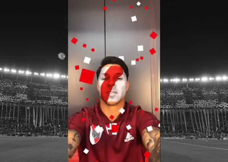 River Plate presenta un filtro exclusivo para Instagram