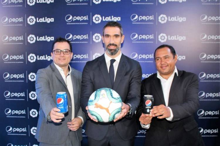 Pepsi se convierte en sponsor regional de LaLiga en Guatemala