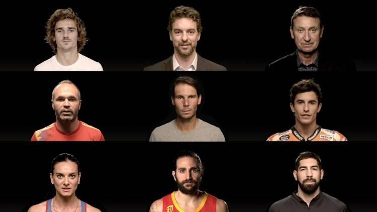 Las figuras del deporte palpitan la Final de la Copa Davis