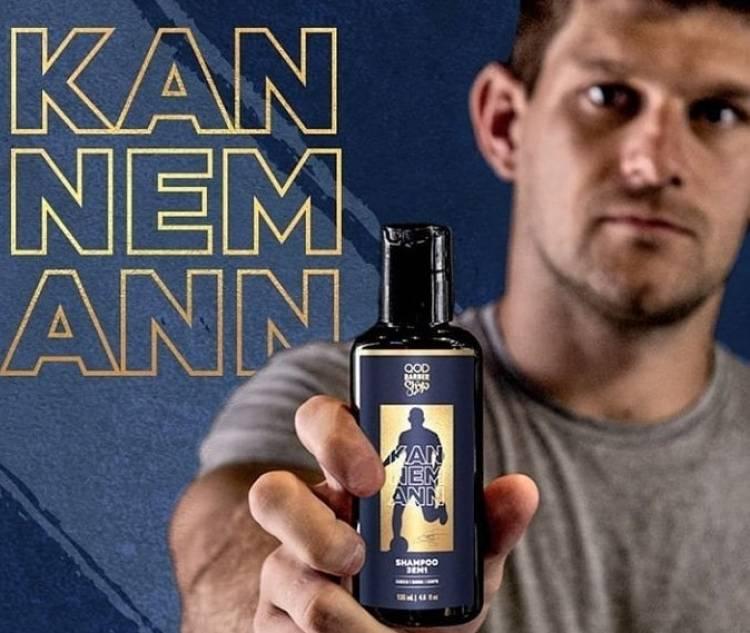 Walter Kannemann presenta su línea de shampoo