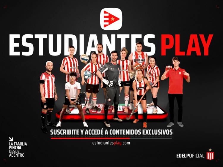 "Estudiantes de La Plata presenta ""Estudiantes Play"""
