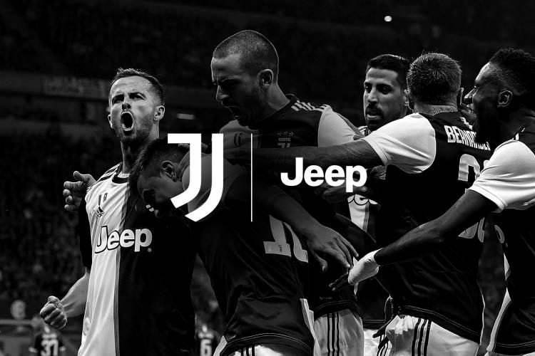 Juventus renovó su contrato de patrocinio con Jeep