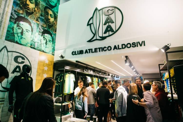 Aldosivi inauguró su Nueva Tienda Oficial