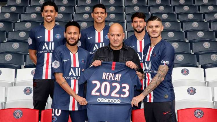 Replay se convierte en socio oficial de Paris Saint Germain