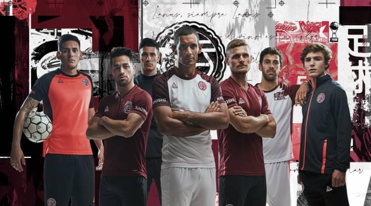 Peak Sport y Lanús presentaron las nuevas camisetas Granates