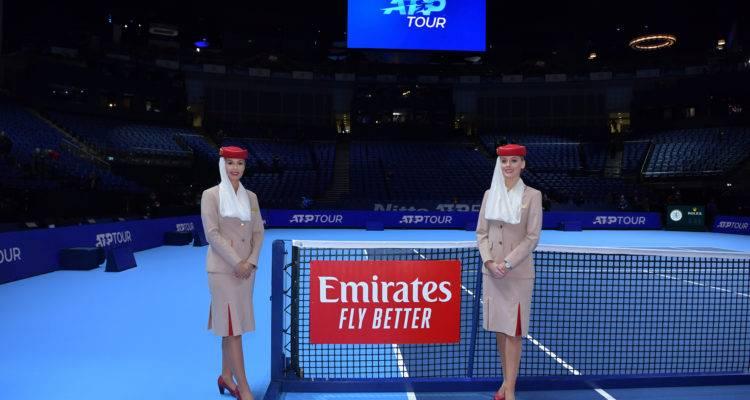ATP World Tour tendrá el apoyo de Emirates hasta 2025