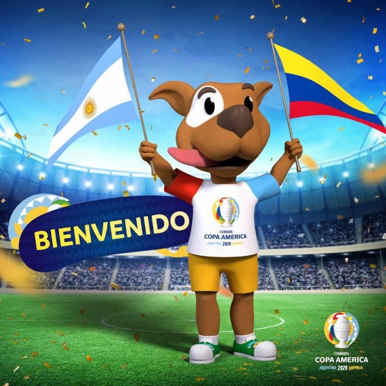 CONMEBOL presentó la mascota oficial de la Copa América 2020