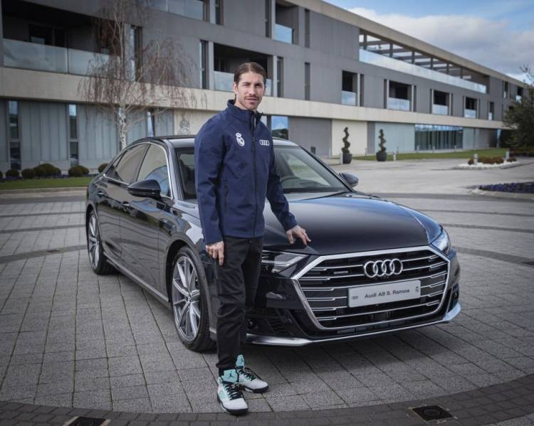 Audi renueva la flota de automóviles del Real Madrid