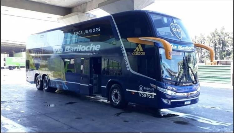 Vía Bariloche, transporte oficial de Boca Juniors
