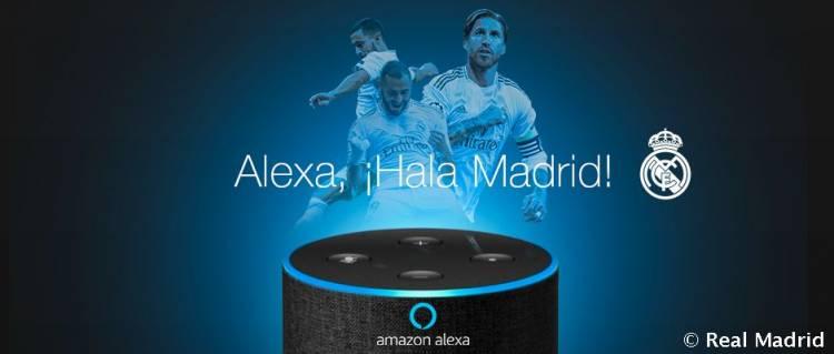 Real Madrid dice presente en Alexa