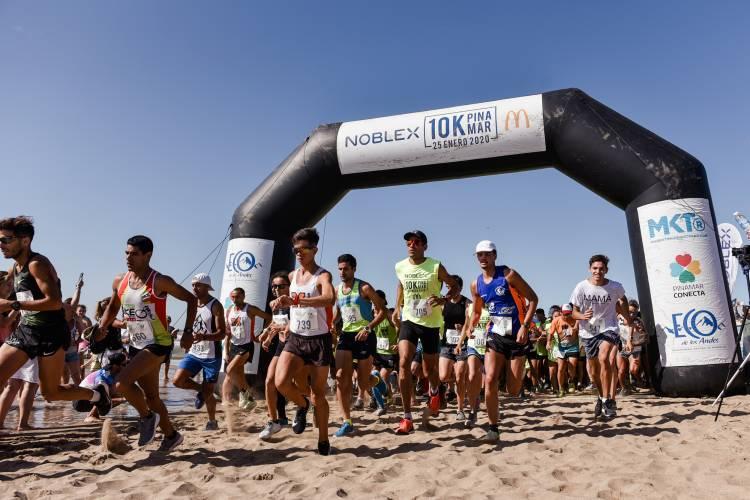 Más de 1500 corredores participaron de los #10KPinamar de Noblex y McDonald´s
