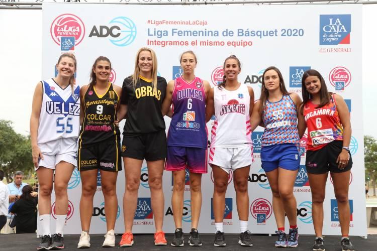 La Caja inauguró la temporada 2020 de la Liga Femenina de Básquet