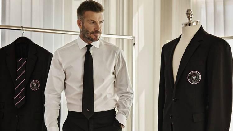 Ralph Lauren diseñó el traje de David Beckham