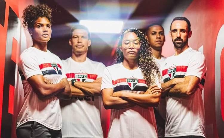 Adidas presentó la nueva camiseta de Sao Paulo en honor a sus 90 años